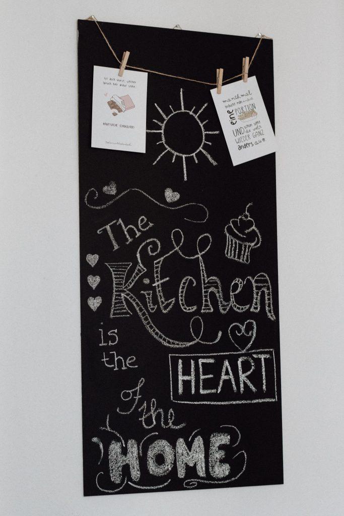 DIY Kreidetafel - Chalkboard