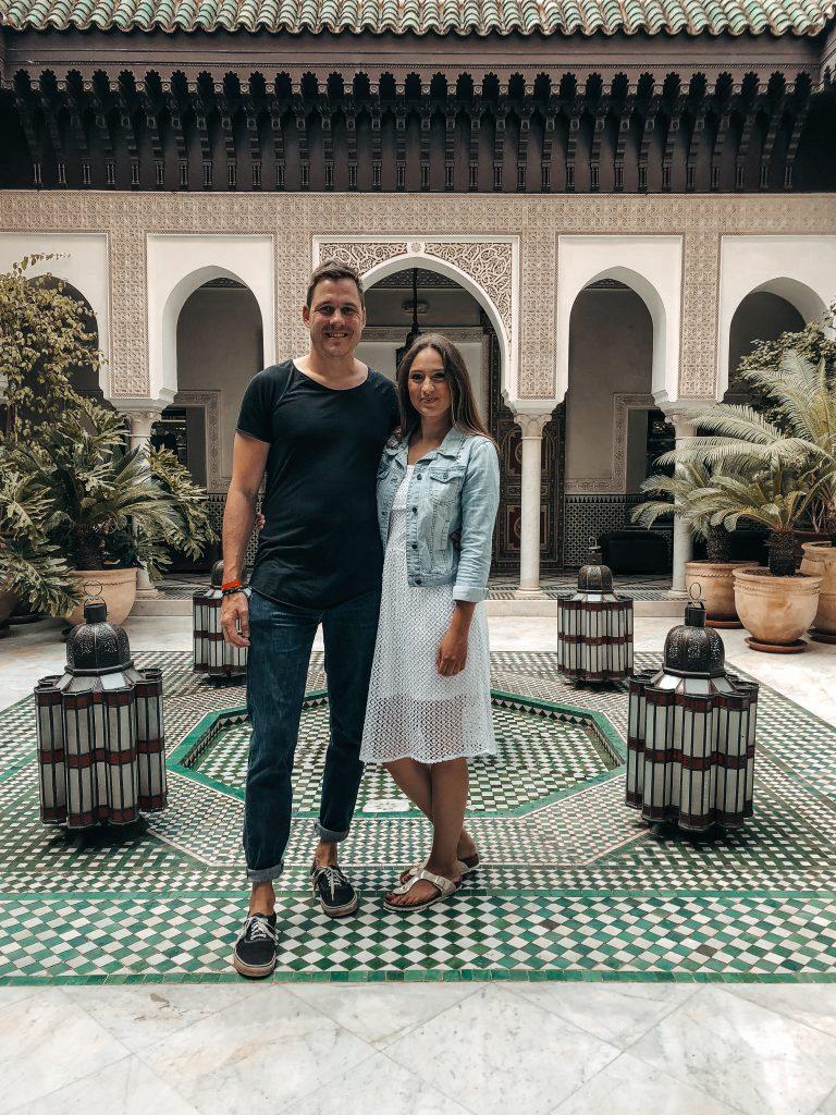 Marrakesch La Mamounia Kim Drew Couple