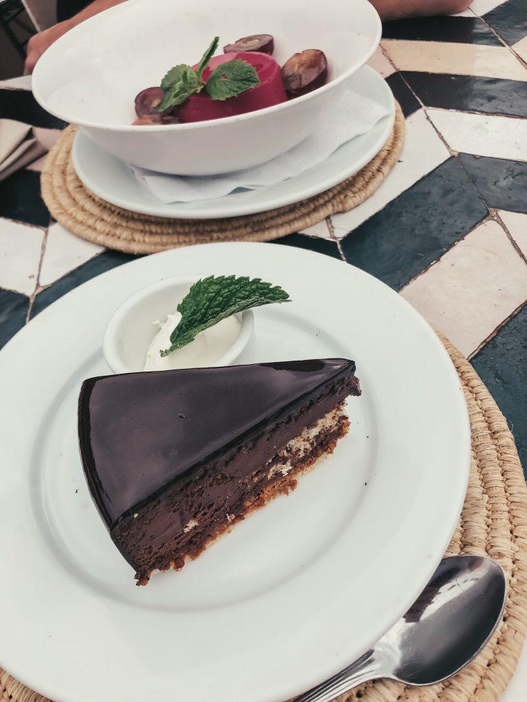 Marrakesch Restaurant Nomad Dessert